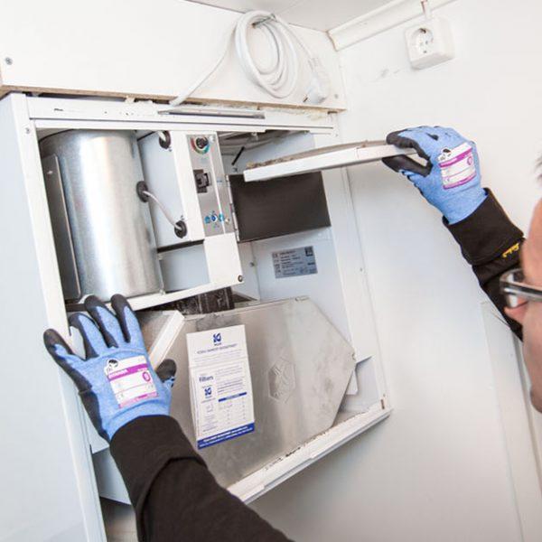 Ilmanvaihtolaitteiden huolto ja puhdistus | Mikkelin Nuohoustoimi